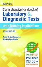 Laboratory and Diagnostic Tests with Nursing Implications by Mickey L. Bladh and Anne M. Van Leeuwen (2015, Paperback, Revised)