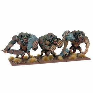 3-Mantic-Trolls-sin-Caja-Sin-Montar-amp-sin-pintar-los-Reyes-De-Guerra