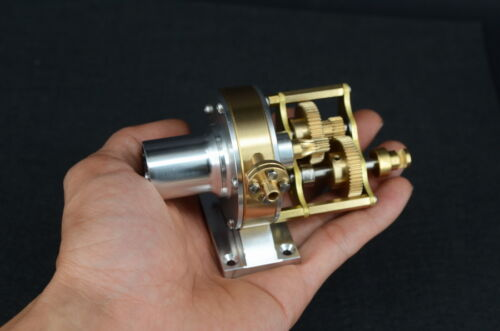 Live Steam Turbine Engine Multi-stage reduction group JB-B