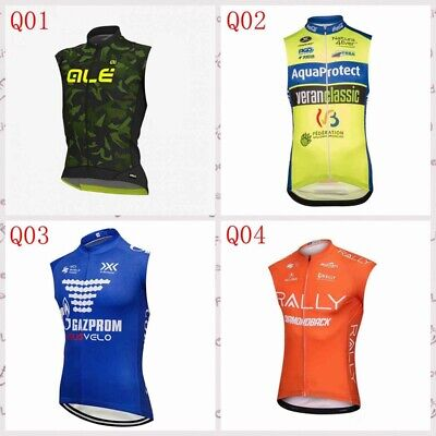 Cycling Sleeveless vest jersey tops Summer outdoor Men/'s cycling clothes Q8233