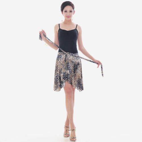 NEW Latin salsa tango rumba Cha cha Square Ballroom Dance Dress#GG015 Skirt