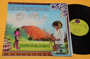 Quicksilver LP Just for Love 1° St Orig 1970 EX! Gatefold Standup Psych Prog