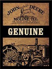 """John Deere """"Genuine"""" fridge magnet   (na)"""
