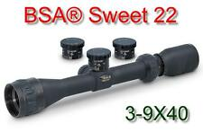 BSA® Sweet 22-39X40AO 3-9X40 Hunting Rifle Scope With Compensation for .22LR