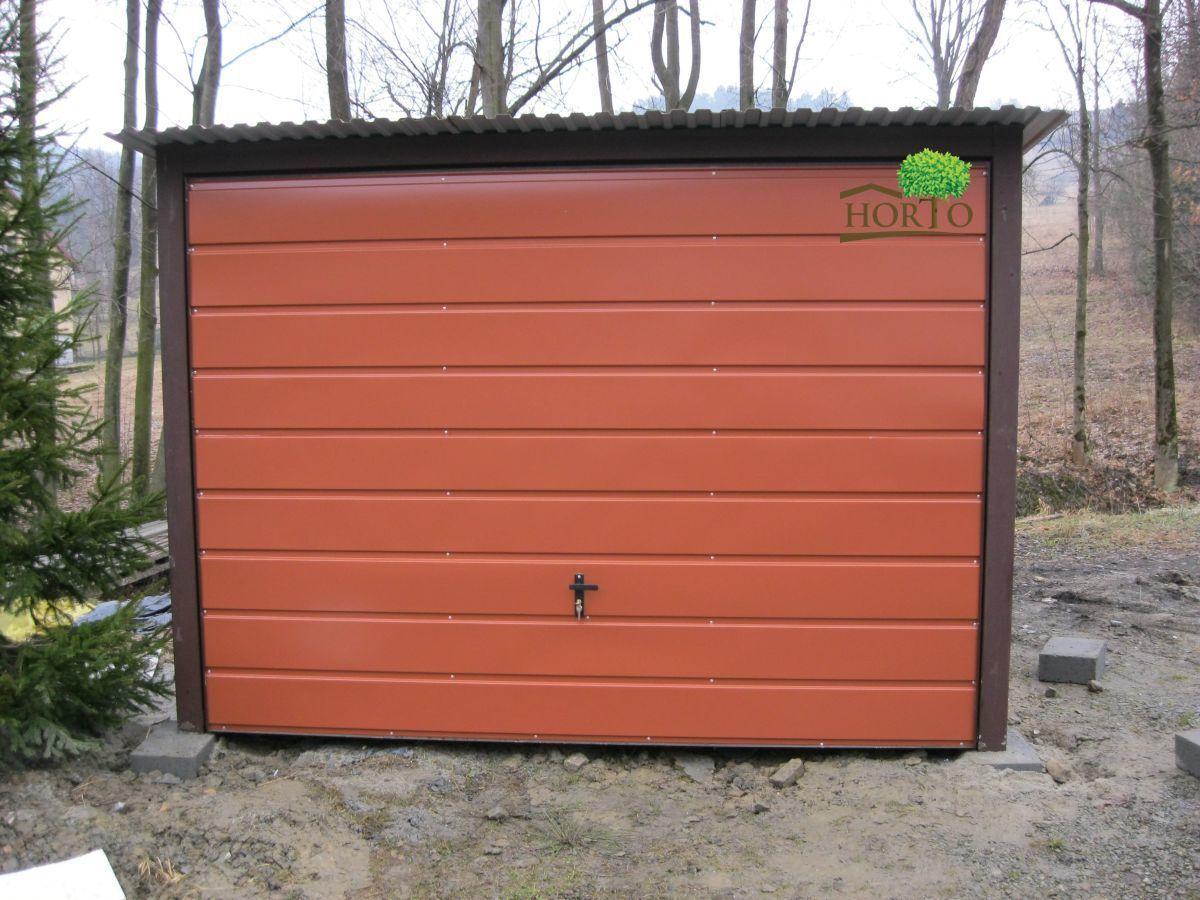 2,5x5,5 Blechgarage Fertiggarage Metallgarage Gartenschuppen garage Container
