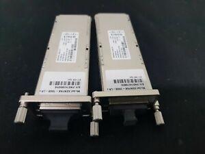 Cisco-lot-of-2-XENPAK-10GB-LR-Transceiver-Modules-USED