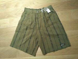 G-amp-S-GORDON-amp-SMITH-VINTAGE-NOS-SHORT-SIZE-30-MADE-IN-USA-WALK-SHORT-PANTALON