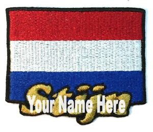Surfing Custom Iron-on Patch With Name Personalized Free