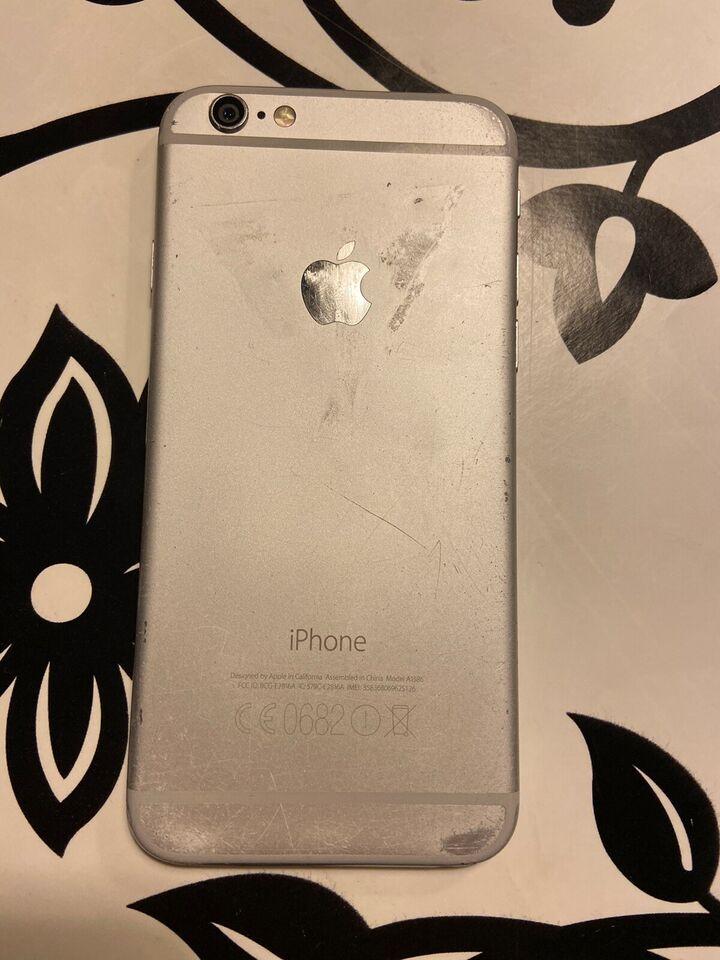 iPhone 6, 32 GB, hvid