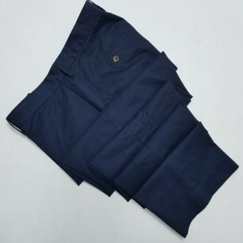 J.Crew Slim Bedford, Flat Front pants, Navy Blue,