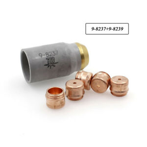 PKG-6-SL60-SL100-Plasma-Retaining-Cup-9-8237-amp-Shield-Cap-9-8239-fit-Thermal