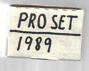 Details About 1989 Pro Set Complete 440 Card Football Set Barry Sanders Rookie Year Qty Avail