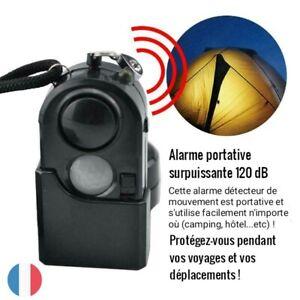 Alarme-detecteur-de-mouvement-portative-surpuissante-120-dB-camping-voyages