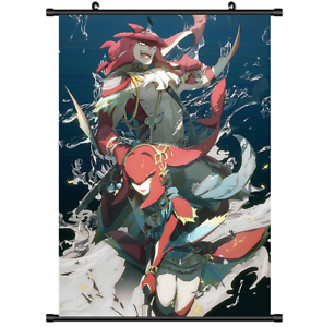 3487  Anime Zelda no Densetsu Breath of the Wild wall Scroll poster