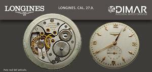 Vintage Original Movement/Longines. Calibre 27.0