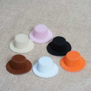 Fashion-Dollhouse-Black-Hat-1-12-Scale-Doll-House-Miniature-Bowler-Top-Hat-Tool