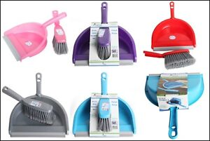 Dustpan-and-Brush-Set-Home-Cleaning-Supplies-Rubber-Scoop-Light-Weight