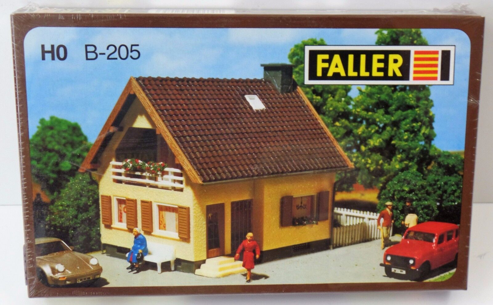 Faller H0 Einfamilienhaus mit Loggia B-205 - OVP NEU NEW  | Exquisite Handwerkskunst