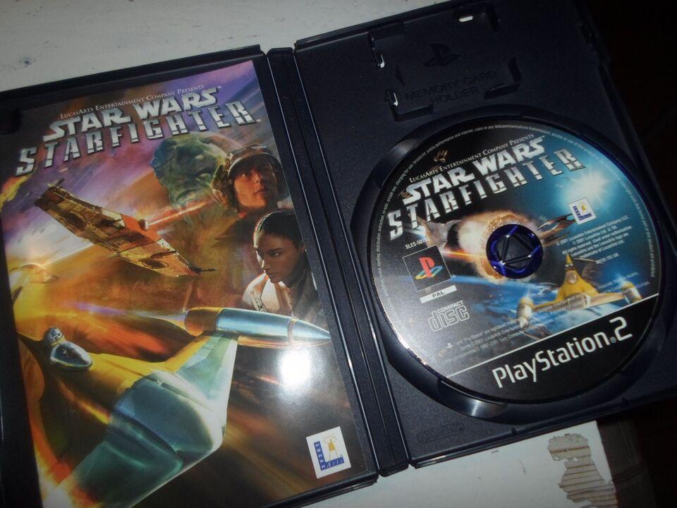 Star wars Starfighter LUCASARTS (Black label), PS2
