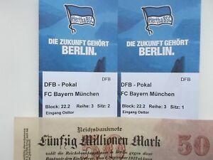 DFB  POKAL  Hertha BSC - Bayern München 5./6.02.19  DAS WEIHNACHTSGESCHENK !!