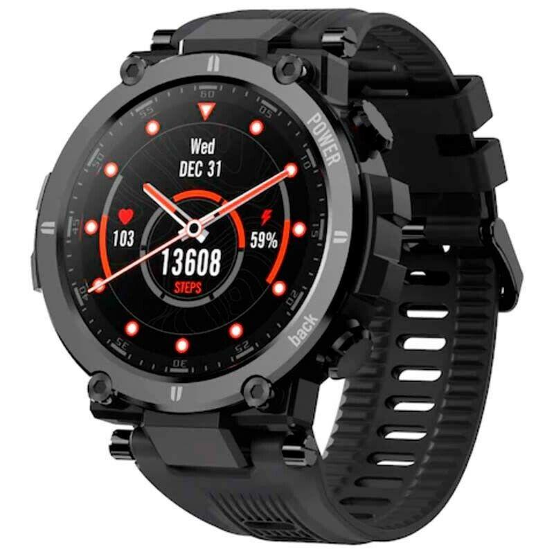 """KOSPET Raptor Smart watch 1.3"""" - Fitness Tracker Heart Rate Monitor  Sport Watch"""