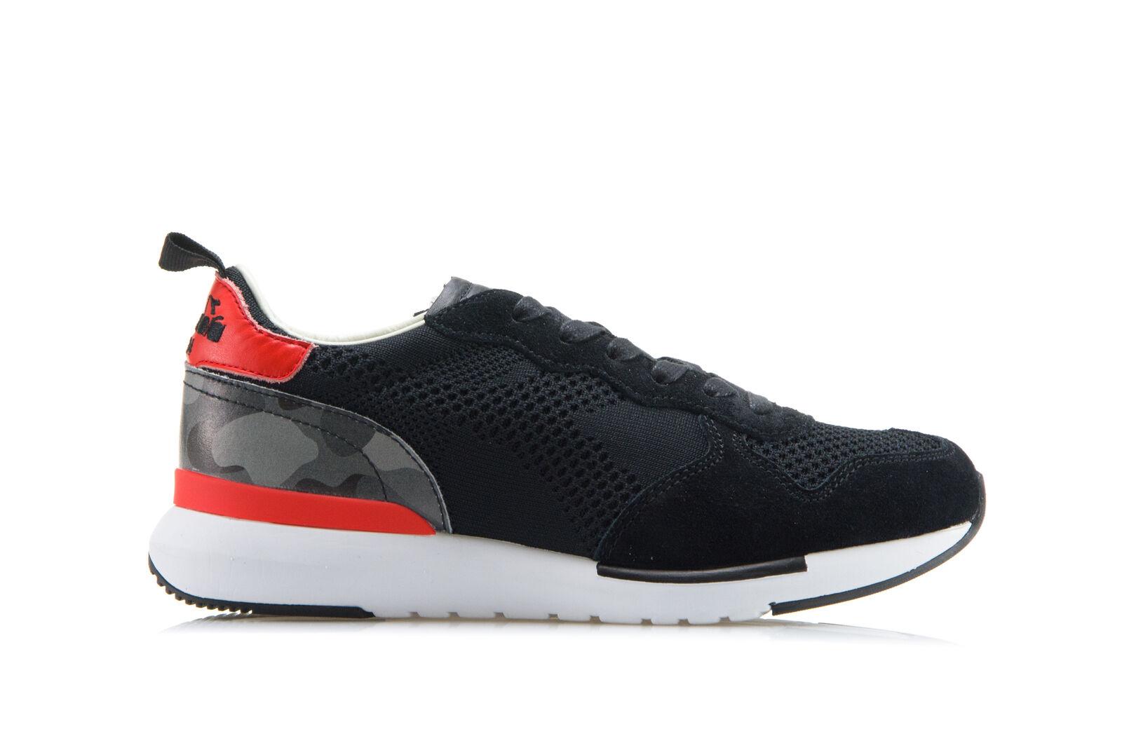 DIADORA HERITAGE Herren EVO Damen Sneakers Schuhe TRIDENT EVO Herren LIGHT Schwarz Turnschu 4a7726