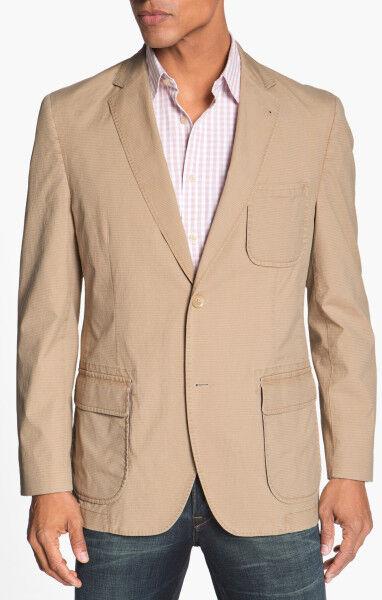 Kroon Harrison Cotton Blend Sportcoat in Brown for Men (tan) SZ  46R