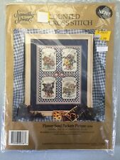 "Something Special Cross Stitch Kit ""FLOWER SEED PACKETS PICTURE"" New 710"