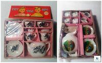 Vintage Toy China Tea Set Made In Japan 2 Variations