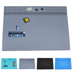 Heat-Insulation-Silicone-Pad-Mat-For-Phone-Repair-service-Magnetic-Heat-Solder