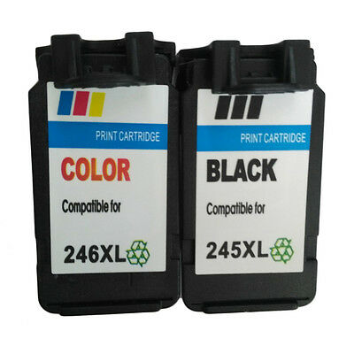 PG 245 Compatible Print Non-OEM Ink Cartridges For Canon 246XL 245XL AHL LU