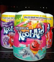 Kool-Aid Drink Mix, Sugar Sweetened Cherry, 19-Ounce Container (Pack of 6)