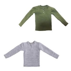2-Pieces-1-6-Male-Long-Sleeve-T-shirts-for-12-039-039-Action-Figure-Men-Hot-Toys