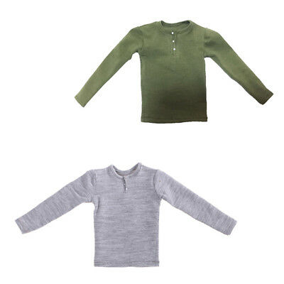 1//6 Male Sweatshirt Sweater Top Clothes for 12/'/' Action Figure Hot Toys