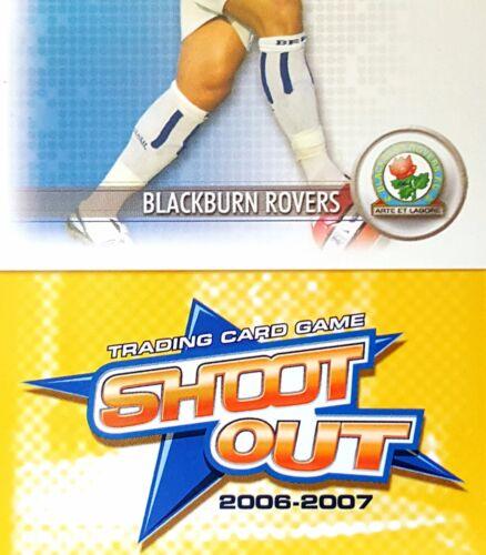 Football cartes Team sets Shoot Out 2006//07 - Diverses équipes jaune dos