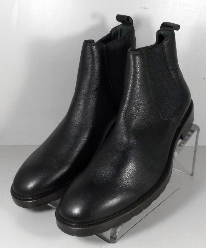 271501 ESBT 50 Zapatos de hombre 10.5 M Negro Cuero 1850 serie botas Johnston Murphy