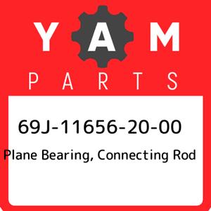 69J-11656-20-00 Yamaha Plane bearing New Genuine O connecting rod 69J116562000
