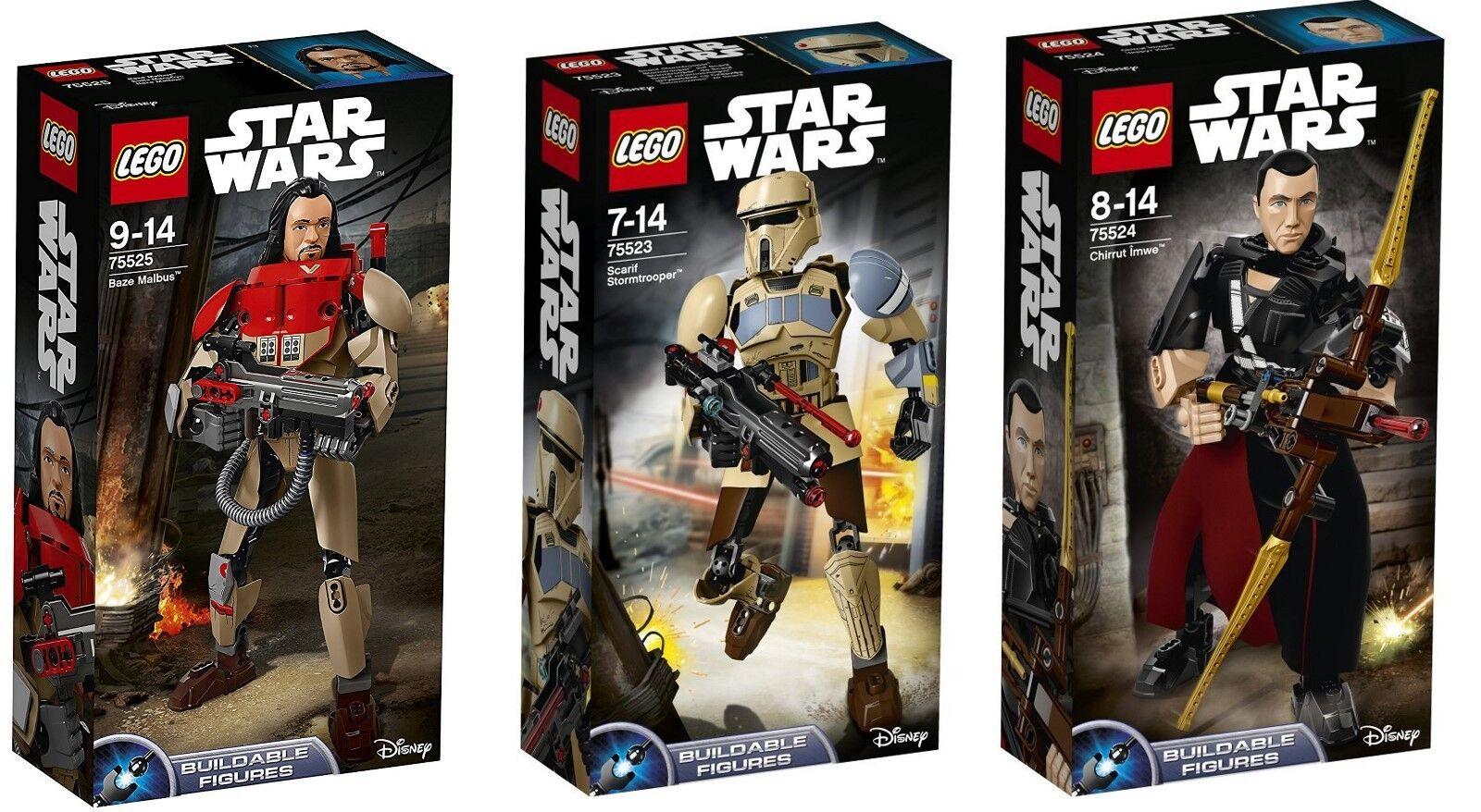 LEGO® Star Wars™ 75523 - 75524 & 75525 AKTIONFIGUREN SETS NEU & OVP 3-ER SET