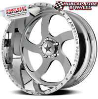 American Force Blade Ss5 Mirror Polish 22x11 Wheels Rims 5 Lug (set Of 4)