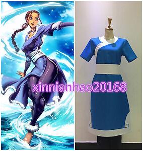 image is loading new avatar the last airbender katara cosplay costume