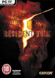 Resident-Evil-5-PC-DVD-Neuf-Scelle