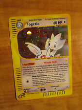 NM E-Reader TOGETIC Pokemon Card AQUAPOLIS Set H27/H32 Ultra Rare Holo WOTC TCG