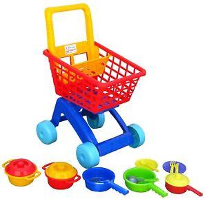 Korb Einkaufskorb Kaufladen einkaufen spielen Kinder Geräte