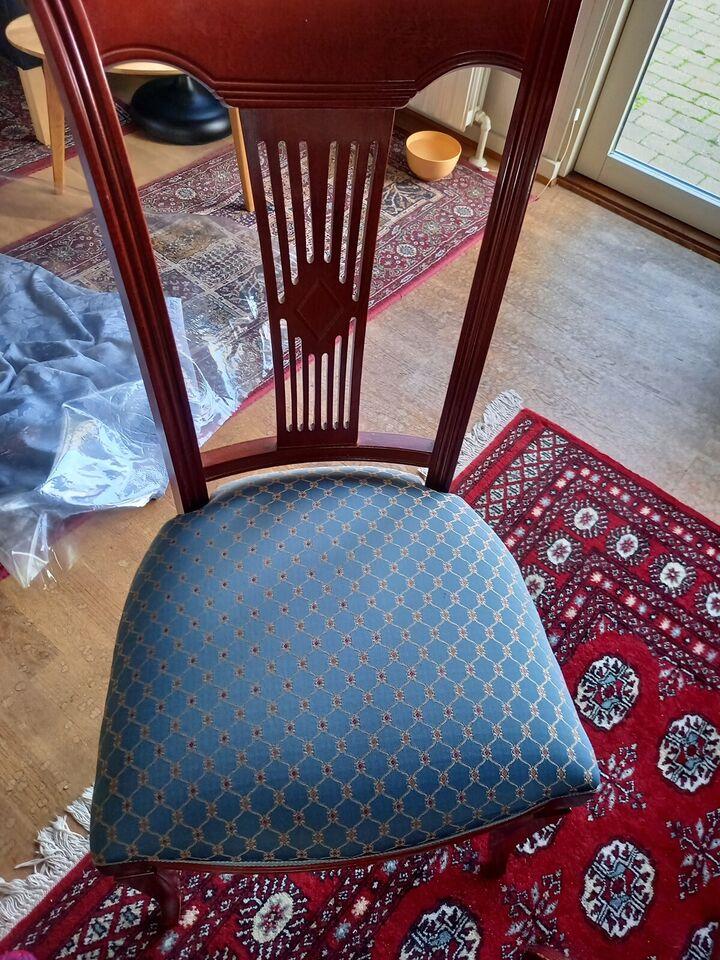 Spisebord m/stole, Maghonie, b: 108 l: 155