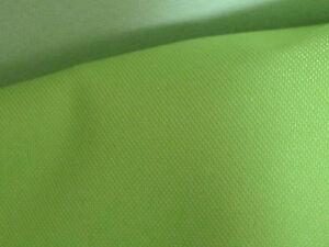 """Discret 10mts De Large 60"""" Citron Vert Polyester Fire Retardant Le Nettoyage Tissu Imperméable-afficher Le Titre D'origine"""