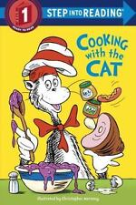 Step into Reading: The Cat in the Hat - Cooking with the Cat by Bonnie Worth (2003, Paperback)