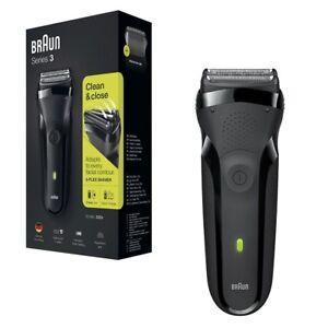 Braun-Series-3-300s-Mens-Electric-Clean-Shaver-Rechargeable-Waterproof-Razor