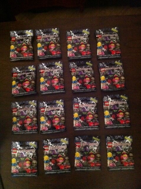 Lego Minifigures, SERIES 14 COMPLETE SET, Sealed  Unopened, FREE UK Postage