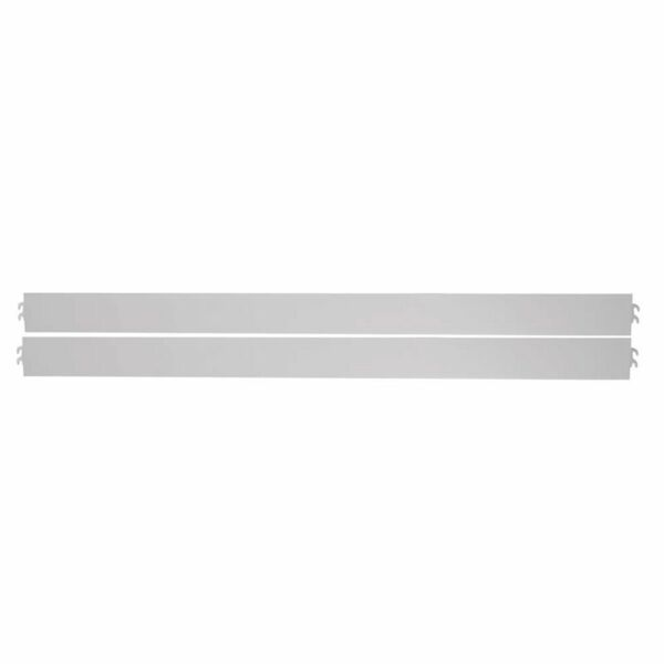 White Childrens Stair Railing Safety Door Baby Stairs Anti-Fall Protective Railing Pet Dog Fence Fence Isolation Door 82-250cm Color : White, Size : 82-89 cm