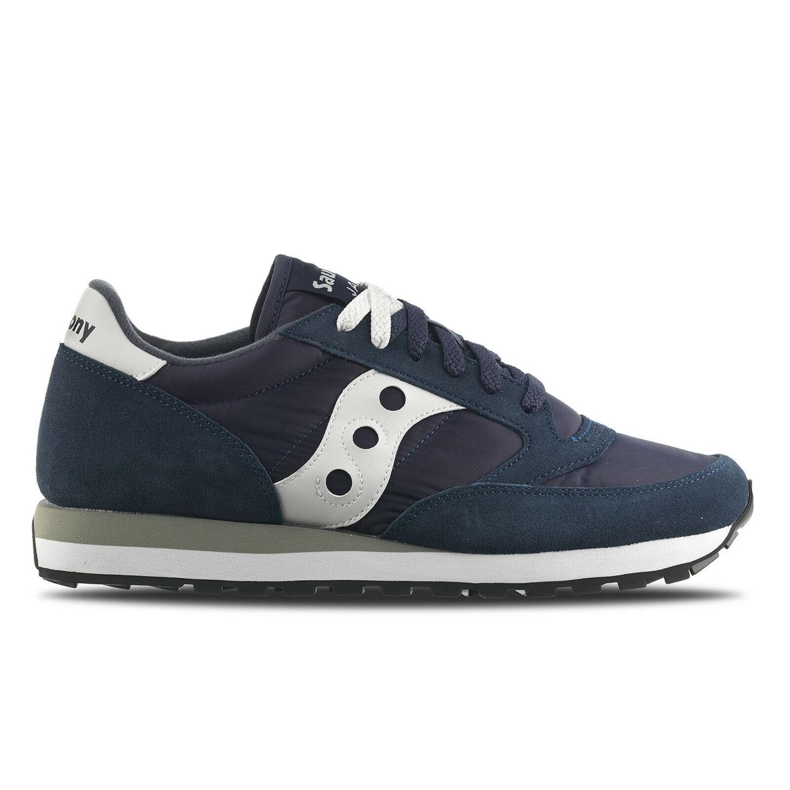 SAUCONY JAZZ ORIGINAL men women shoes blue SNEAKERS LEGGERA COMODA S1044-316
